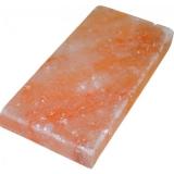 Плитка из Гималайской соли 20*10*1,5 см шлифованная