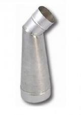 Переходник OOTH с овала на диаметр с отводом